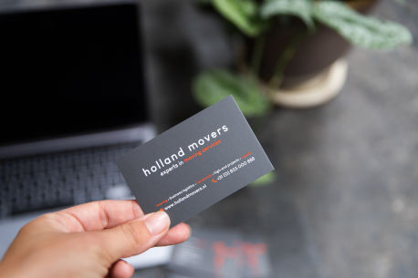 Holland Movers Businesscard
