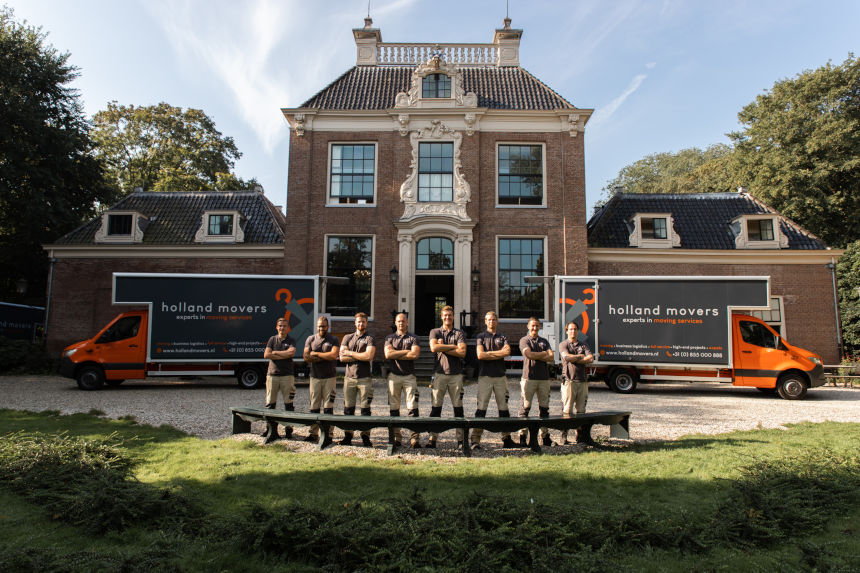 Holland Movers team