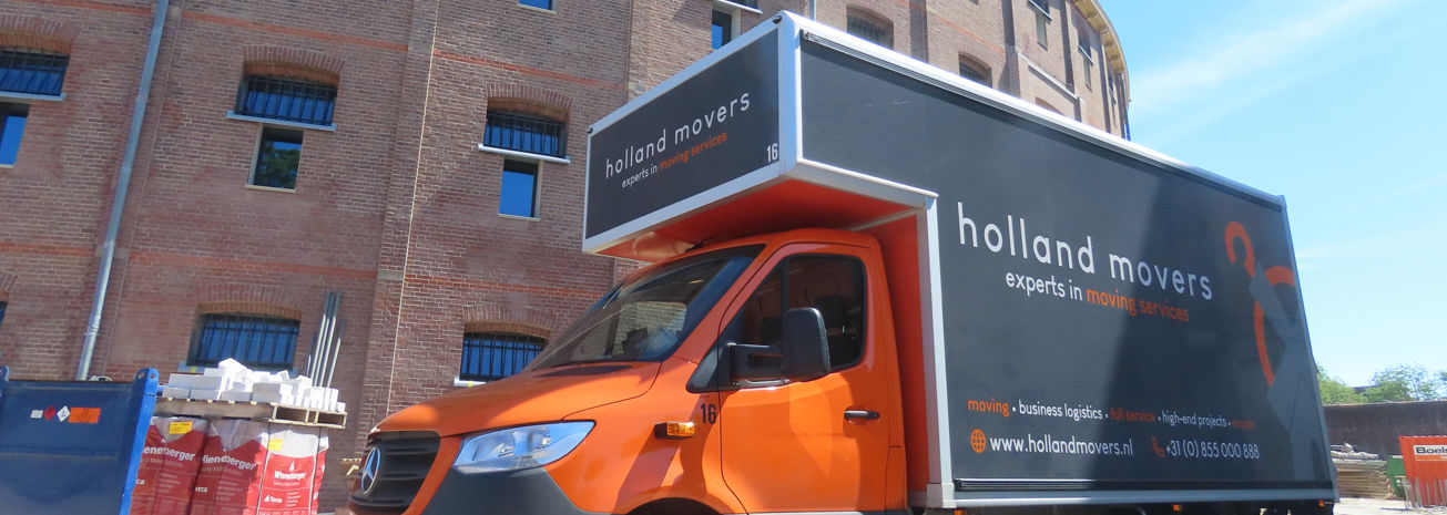 Holland Movers Truck